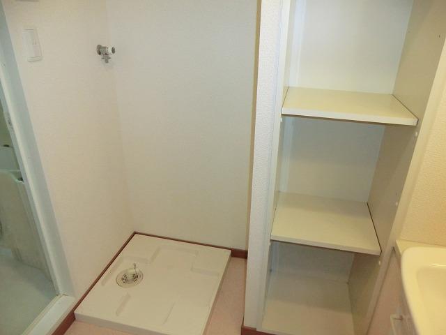プレイン安城 204号室の洗面所