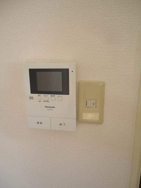 ティエリア豊田 D10号室のセキュリティ