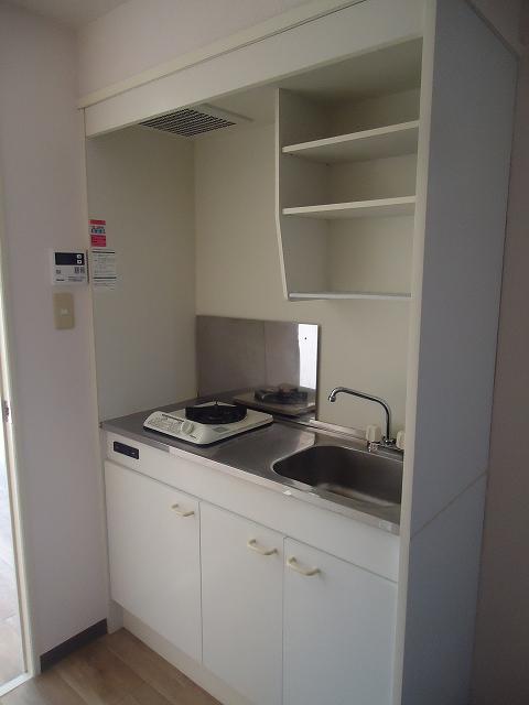 ティエリア豊田 D10号室のキッチン