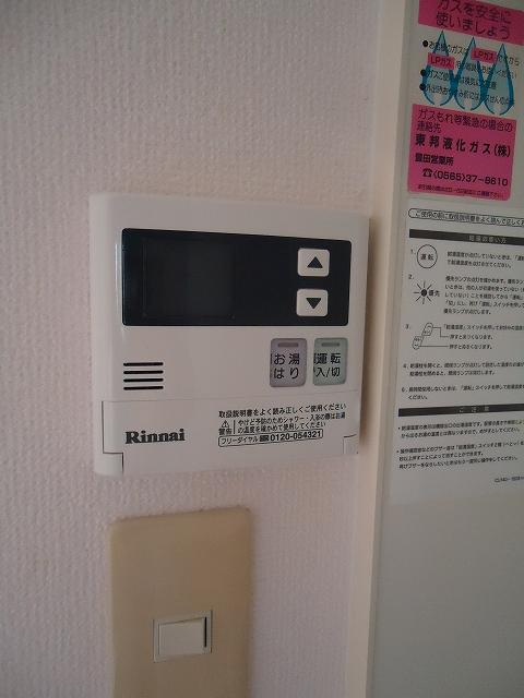 ティエリア豊田 D10号室の風呂