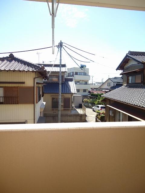ティエリア豊田 D10号室の景色