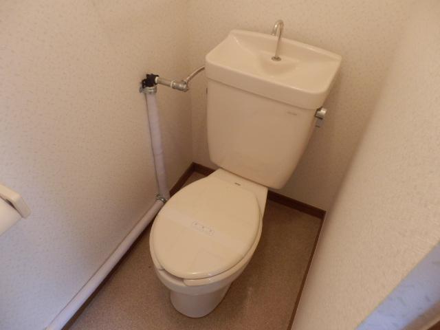 クリエール・サン 202号室のトイレ