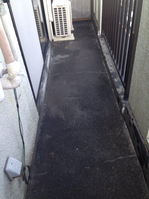 クリエール・サン 301号室のバルコニー