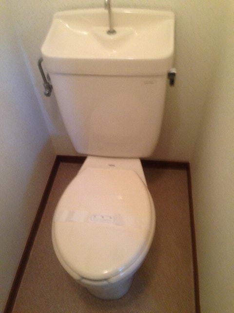 クリエール・サン 301号室のトイレ