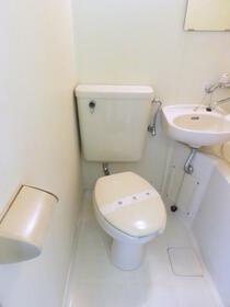 レモンホーム光が丘 203号室のトイレ