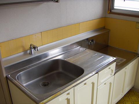 パナハイツ谷 201号室のキッチン