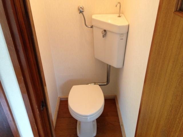 パレスホワイト 201号室のトイレ