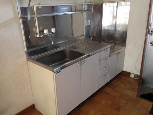 パレスホワイト 202号室のキッチン