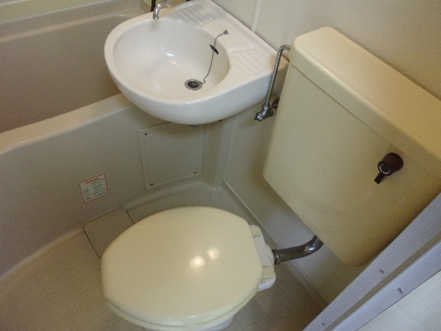 ツインコート 202号室のトイレ