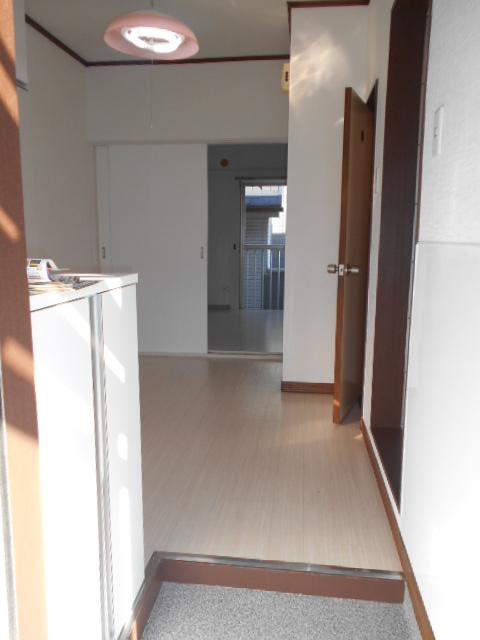 第二城田荘 202号室の玄関