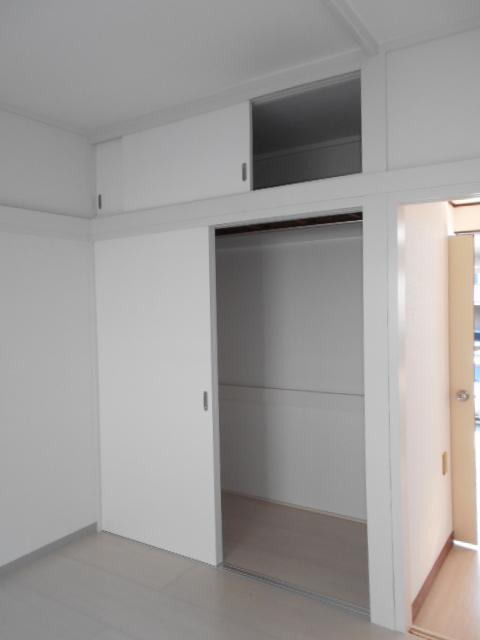 第二城田荘 202号室の収納