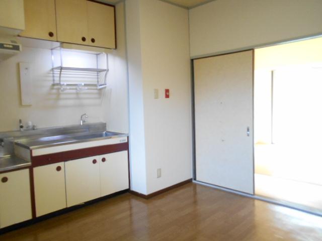 黒滝ハイツ 201号室のキッチン