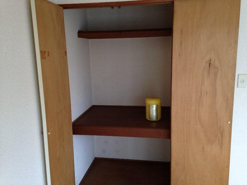 サンクレール華 202号室の収納