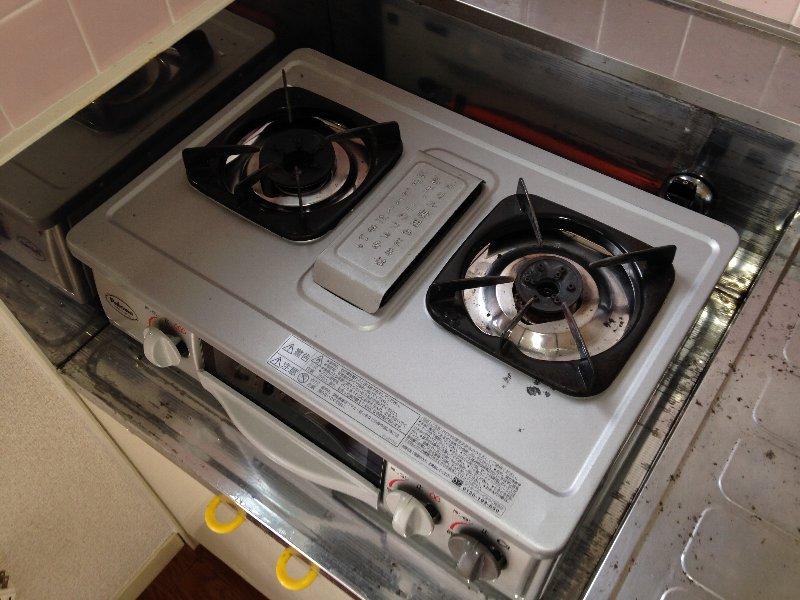 サンクレール華 202号室のキッチン
