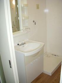 グランドメゾン南成瀬 201号室の洗面所
