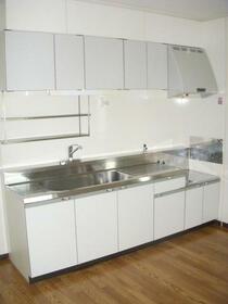 グランドメゾン南成瀬 201号室のキッチン
