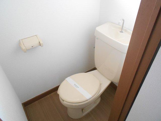 相雄マンション 201号室のトイレ