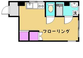 ハイツ小柳三春台・40A号室の間取り