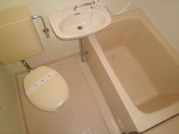 マーガレットハイツ 202号室の風呂