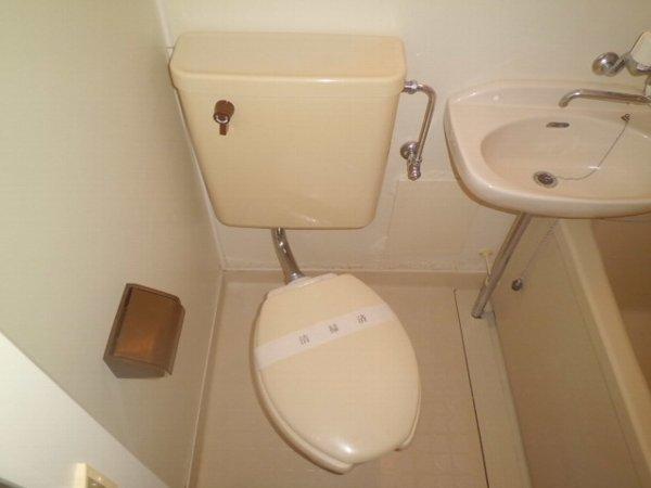 マーガレットハイツ 202号室のトイレ