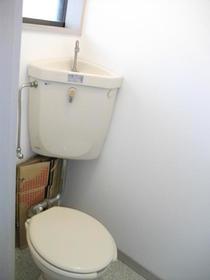 末広荘 105号室のトイレ