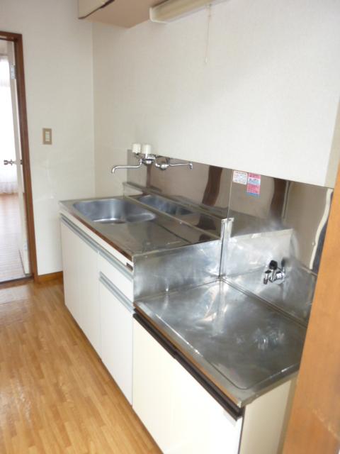 ホワイトハイム1号棟 202号室のキッチン
