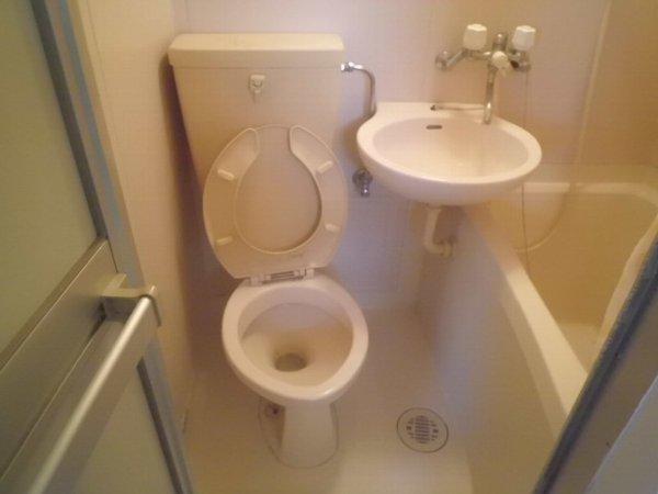 コリーヌ 102号室のトイレ