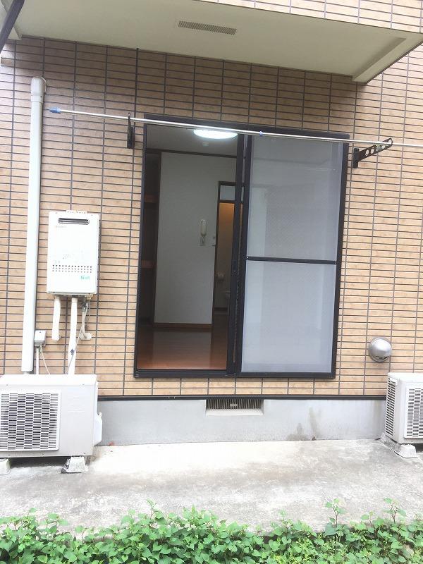 メルベージュ日吉 103号室のバルコニー