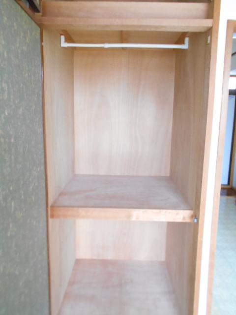 シティーハイムエルベ 2-B号室の収納