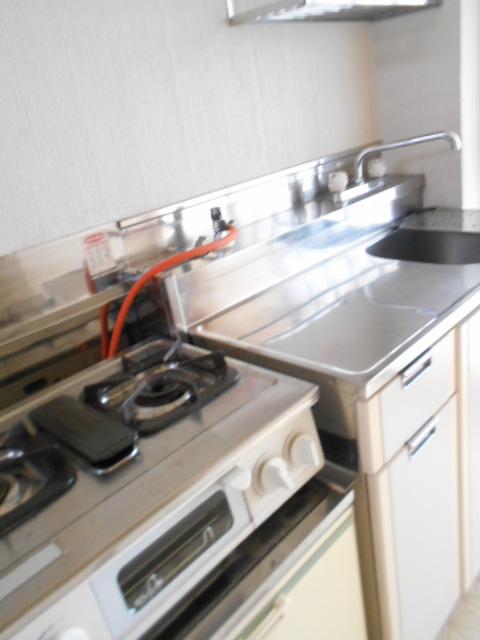 シティーハイムエルベ 2-B号室のキッチン