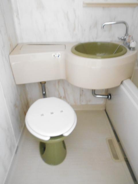 シティーハイムエルベ 2-B号室のトイレ