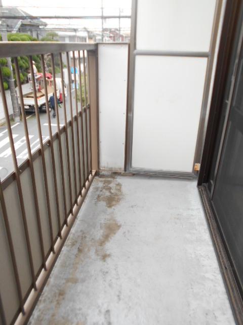 シティーハイムエルベ 2-B号室のバルコニー