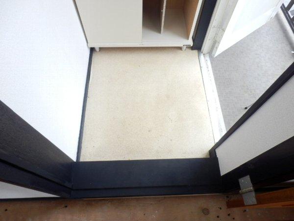 ソレムイズミ 202号室の玄関