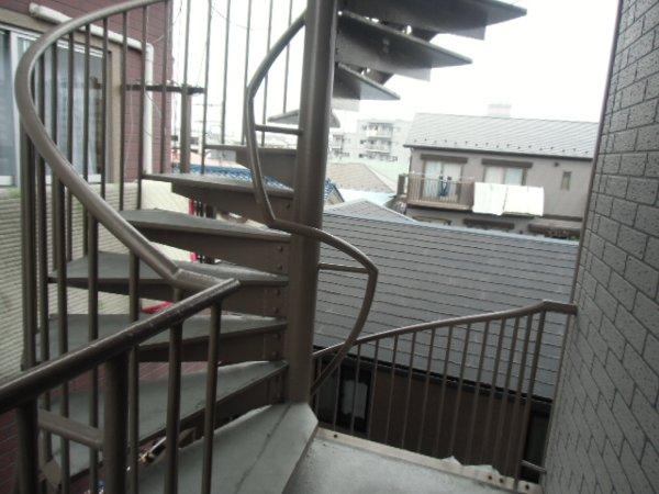 田口荘 302号室のエントランス