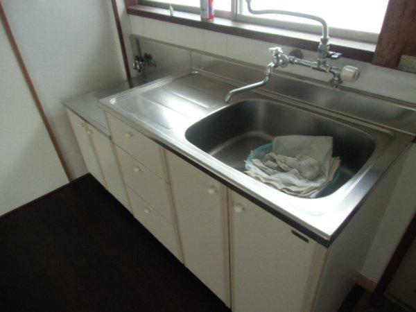 田口荘 302号室のキッチン