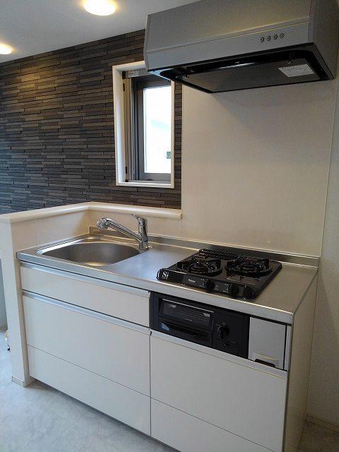 フェリーチェ ウーノ 01010号室のキッチン