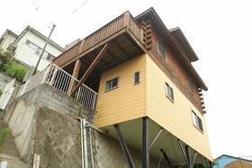 西竹之丸戸建スウェーデン式ログハウスの外観