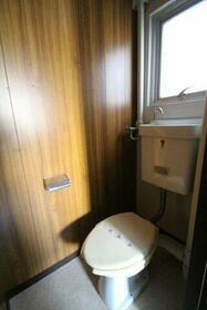 鳥海ハイム 504号室のトイレ