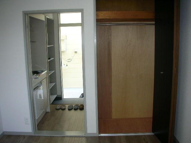レディエンス 205号室の収納