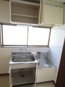 コーポ倉田 201号室のキッチン