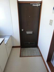 コーポ倉田 201号室の玄関