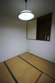 清水コーポ 203号室のバルコニー