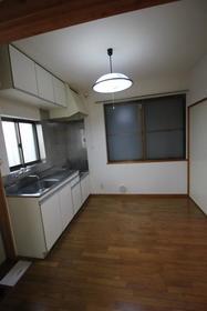 清水コーポ 203号室のキッチン