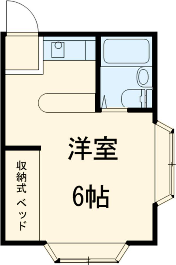 アビタシオン池田 201号室の間取り