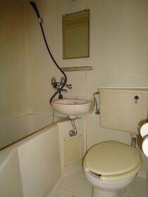 クレスト大和東 105号室の洗面所