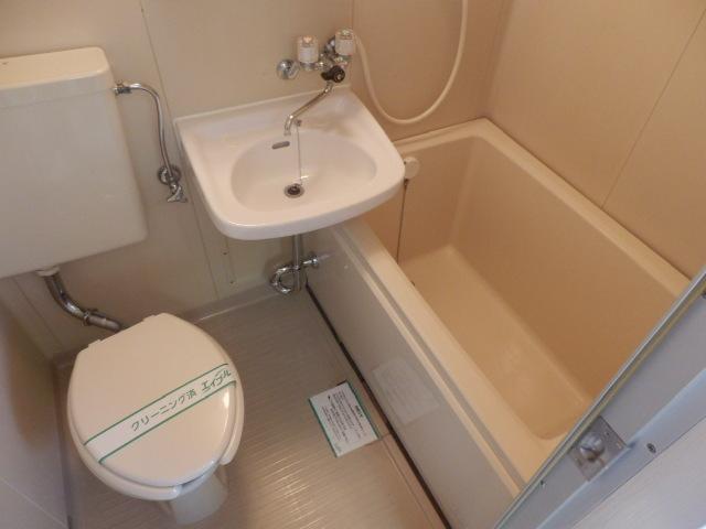 長瀬ビル 302号室の風呂