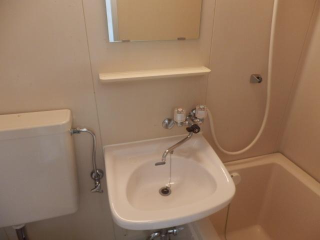 長瀬ビル 302号室の洗面所