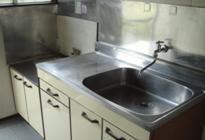 上倉田アパート 201号室のキッチン