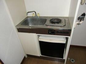 ライヴリーメゾン 201号室のキッチン