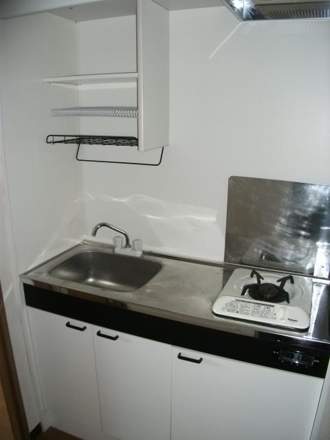 コンプリートHISA 203号室のキッチン